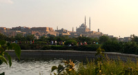 Mosque seen from al Azhar Park