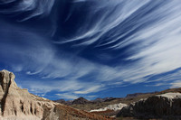winter cirrus clouds over Big Bend