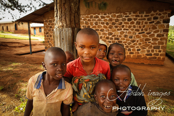 children at the public school at Kibuye