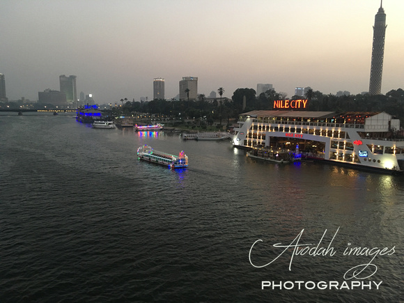 Nile River from 6 October Bridge